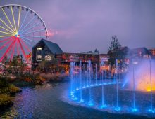 Pigeon Forge at Night